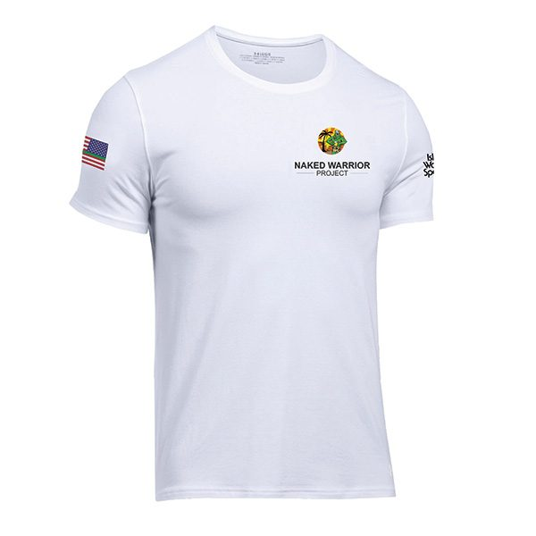 Naked Warrior Project White Shirt